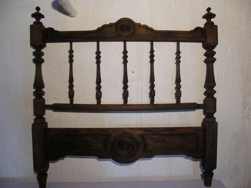 Cabecero de madera cosas del abuelo - Cabeceros de cama antiguos ...