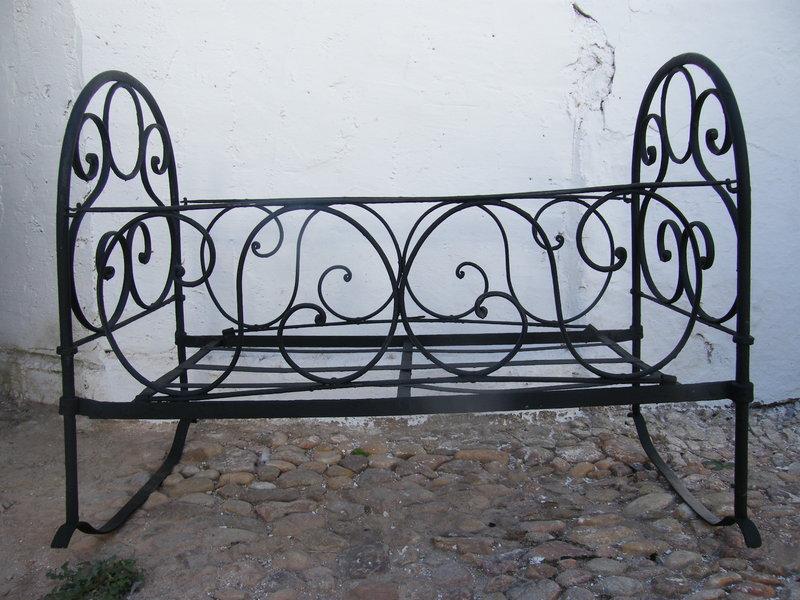 Cuna de hierro cosas del abuelo - Camas antiguas de hierro ...