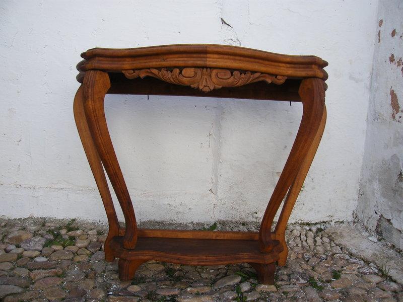Consola de madera cosas del abuelo for Muebles el abuelo