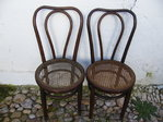 PAIR OF CHAIRS THONET
